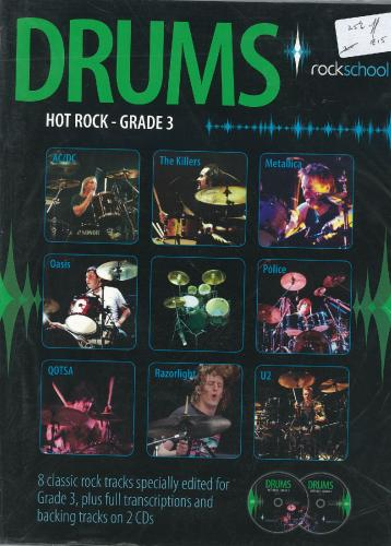 Rockschool Drums - Hot Rock Grade 3