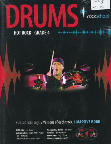 Rockschool Drums - Hot Rock Grade 4