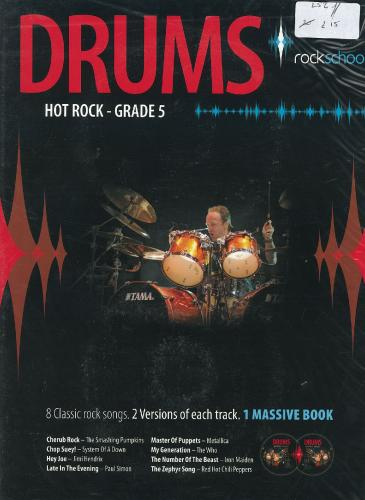 Rockschool Drums - Hot Rock Grade 5