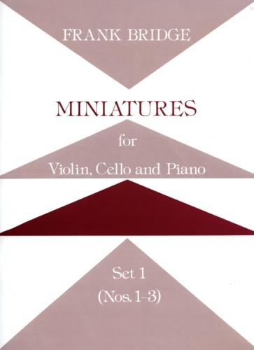 Miniatures for Piano Trio Set 1 (Nos. 1-3)
