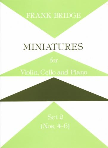 Miniatures for Piano Trio Set 2 (Nos. 4-6)