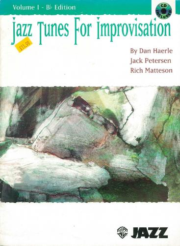 Jazz Tunes for Improvisation Vol. 1 - B flat Edition (Trumpet/cornet + Cd)
