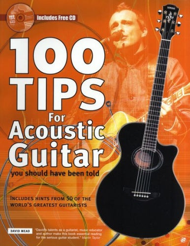 Mead: 100 Tips for Acoustic Guitar (Book & CD)