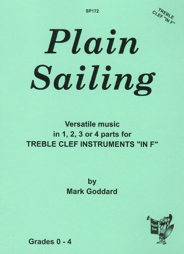 Plain Sailing: Treble Clef Instruments in F