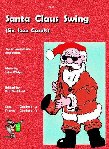 John Widger: Santa Claus Swing (Tenor / Soprano Saxophone & Piano)