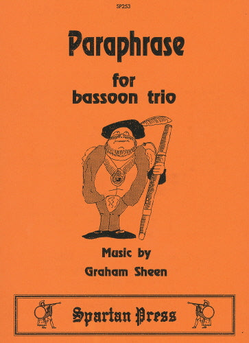 Graham Sheen: Paraphrase (Bassoon Trio)