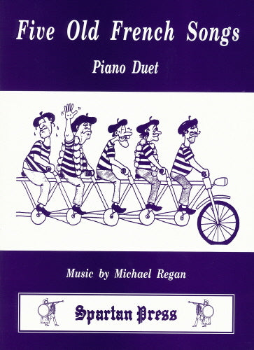 Michael Regan: Five Old French Songs (Piano Duet)