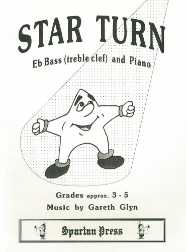 Gareth Glyn: Star Turn (Eb Bass treble clef & Piano)