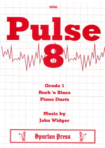 John Widger: Pulse 8  Rock 'n' Blues (Piano Duet)