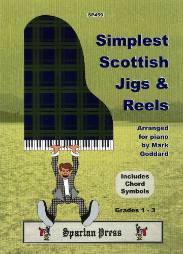 Simplest Scottish Jigs & Reels for Solo Piano