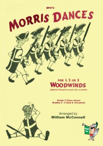 Morris Dances for 1, 2 or 3 Woodwinds