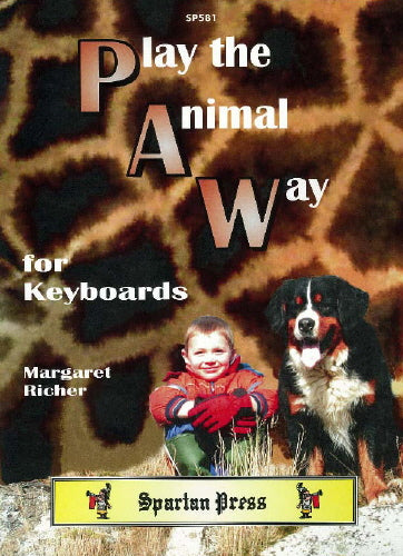 Margaret Richer: Play the Animal Way (Electronic Keyboard)