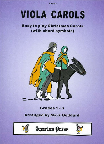 Viola Carols: Easy Xmas Carols (+ opt. chords)