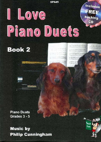 Philip Cunningham: I Love Piano Duets Book 2