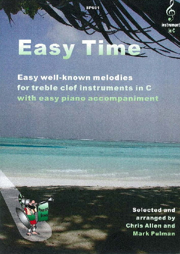 Easy Time: TREBLE CLEF book. Allen/Pulman