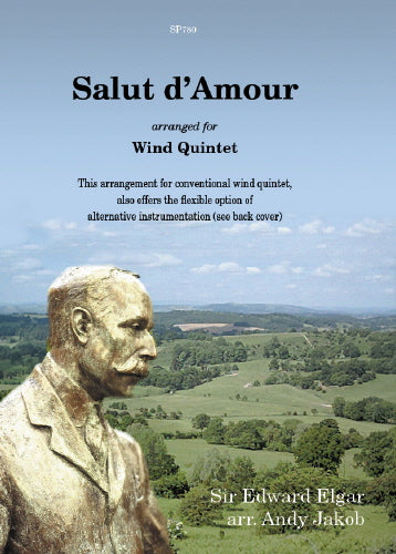 Sir Edward Elgar: Salut d'Amour for flexible wind quintet