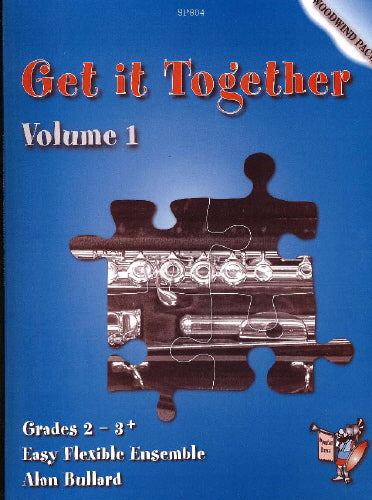 Alan Bullard: Get It Together: Woodwind Pack Volume 1