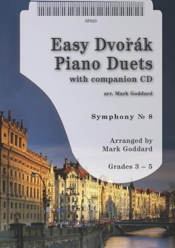 Dvorák: Easy Dvořák Piano Duets  - Includes free CD