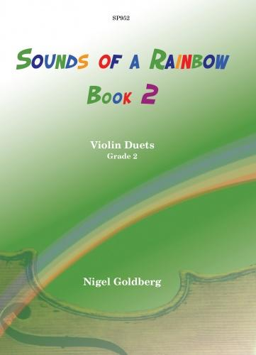 Nigel Goldberg: Sounds of a Rainbow Book 2 (Violin Duet)