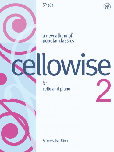 Cellowise 2 for young cellists with CD
