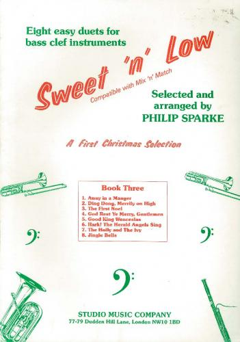 Sweet 'n' Low Book 3 Bass Clef (Christmas Selection 1) (Bassoon Duet)
