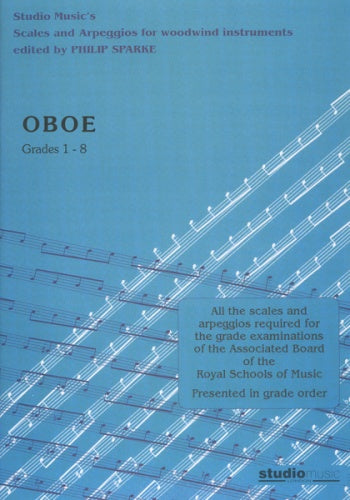 Scales and Arpeggios for Oboe (ed. Philip Sparke)