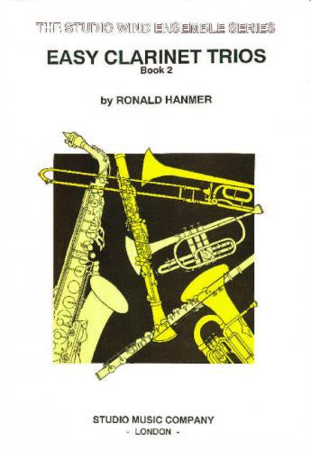 Ronald Hanmer: Easy Clarinet Trios Book 2