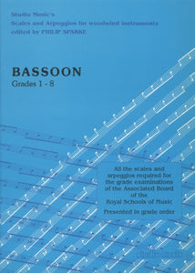 Scales and Arpeggios for Bassoon (ed. Philip Sparke)