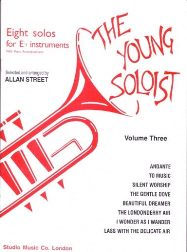 The Young Soloist, Volume 3 (Eb Treble Brass & Piano)