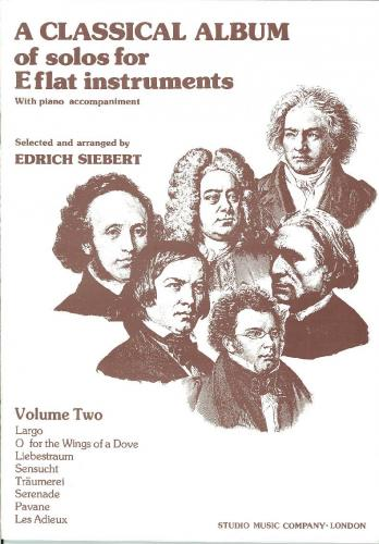 A Classical Album of Solos for Eb Instruments, Volume 2 (Treble Clef Brass)