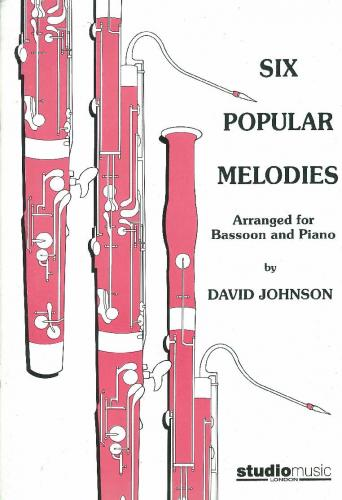 6 Popular Melodies (Bassoon & Piano)