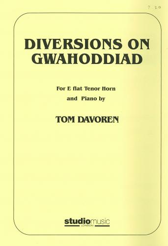 Tom Davoren: Diversions on Gwahoddiad for Eb Tenor  Horn