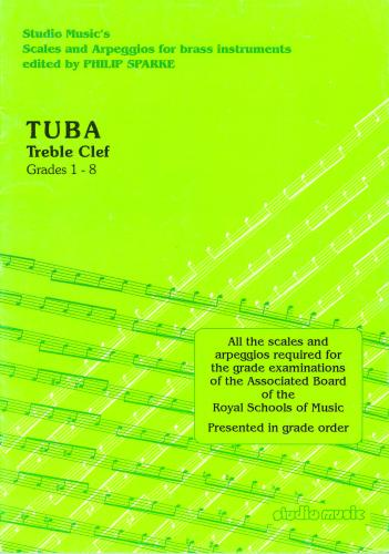 Tuba Treble Clef ABRSM scales and Arpeggios Grades 1-8