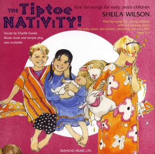 Wilson: Tiptoe Nativity! (CD)