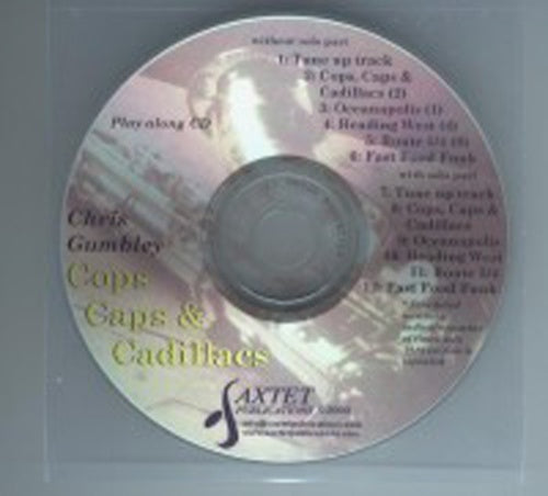 Gumbley: Cops, Caps & Cadillacs - play-along CD