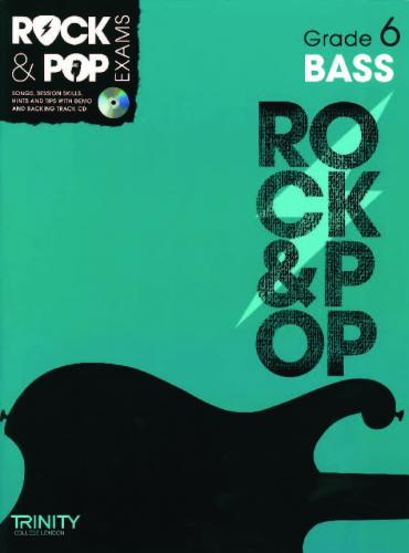 Rock & Pop Exams Bass Grade 6
