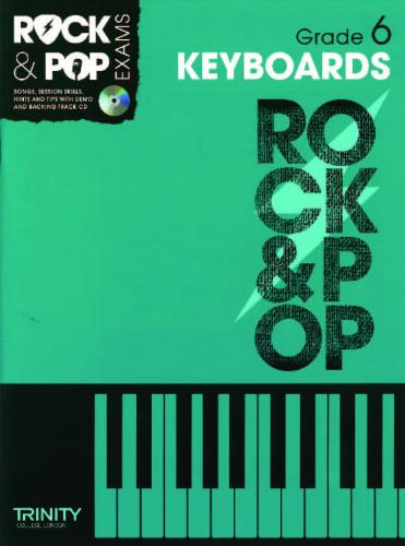 Rock & Pop Exams Keyboards Grade 6