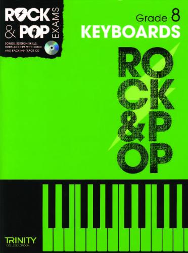 Rock & Pop Exams Keyboard Grade 8