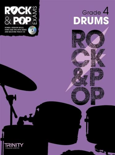 Rock and Pop Exams Drums Grade 4