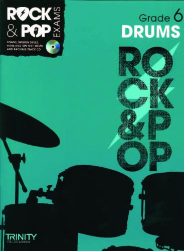 Rock and Pop Exams Drums Grade 6