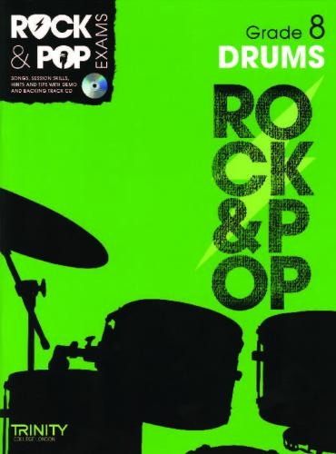 Rock and Pop Exams Drums Grade 8