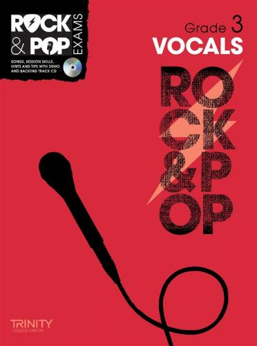 Rock and Pop Exams Vocals Grade 3