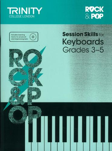 TCL-Session Skills for Keyboard Grades 3-5 (Trinity Rock And Pop Exams)