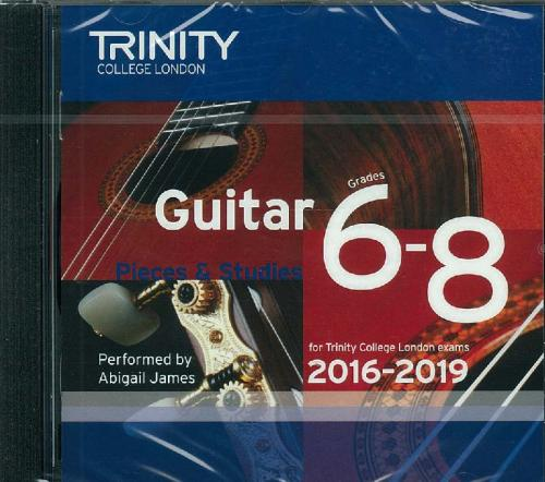 Various: TCL Guitar CD Grades 6-8  2016-2019