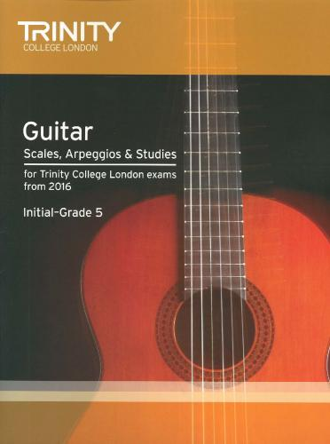 TCL Guitar & Plectrum Guitar Scales, Arpeggios & Studies Initial- 5  2016