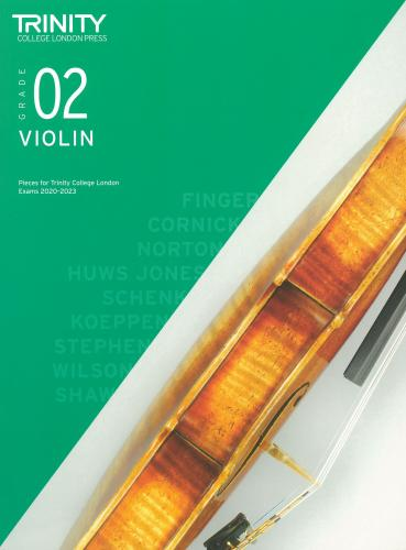 Trinity College Grade 2 Violin - 2020-2023 - Score & Part