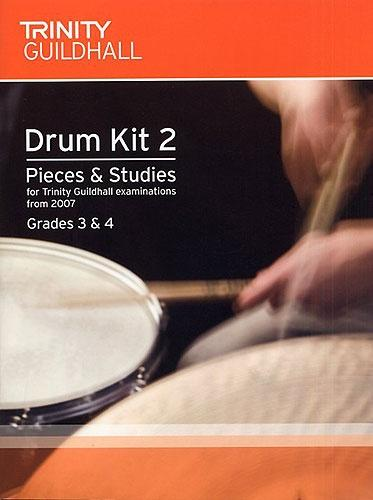 Drum Kit 2 (2007-2010) Grades 3-4, Pieces & Studies (with CD)