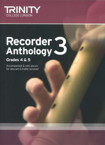 Recorder Anthology Grades 4-5