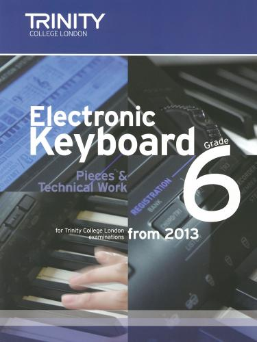 Electronic Keyboard Grade 6 from 2013
