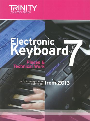 Electronic Keyboard Grade 7 from 2013